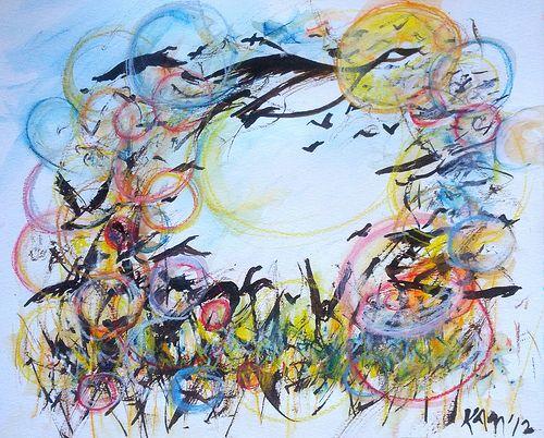 Gander Painting Art Watercolor