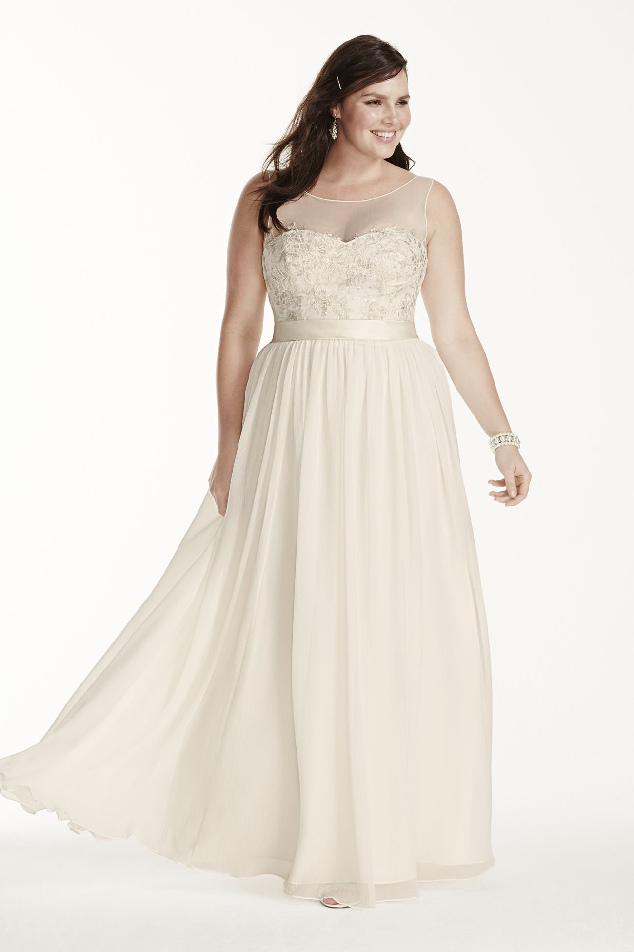 My New Favorite! www.davidsbridal.com/10414152 | Wedding | Pinterest ...