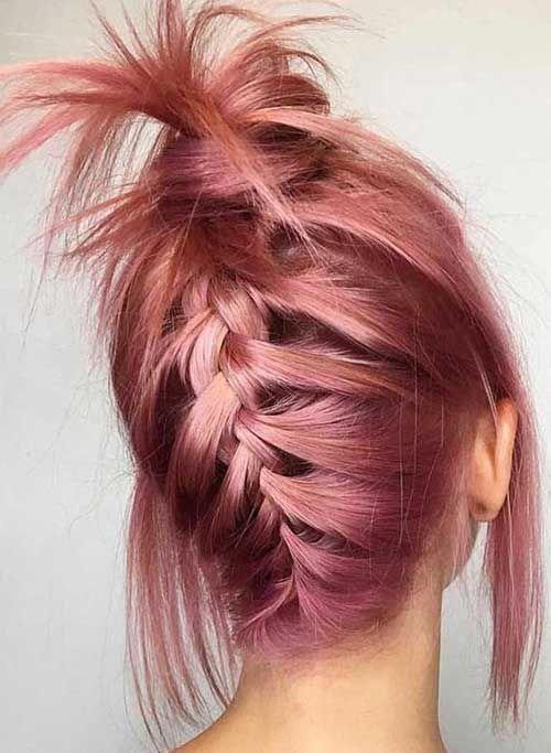 Knotted Fishbone Braid from BabesInHairland.com #fishbone #fishtail #braid #hair