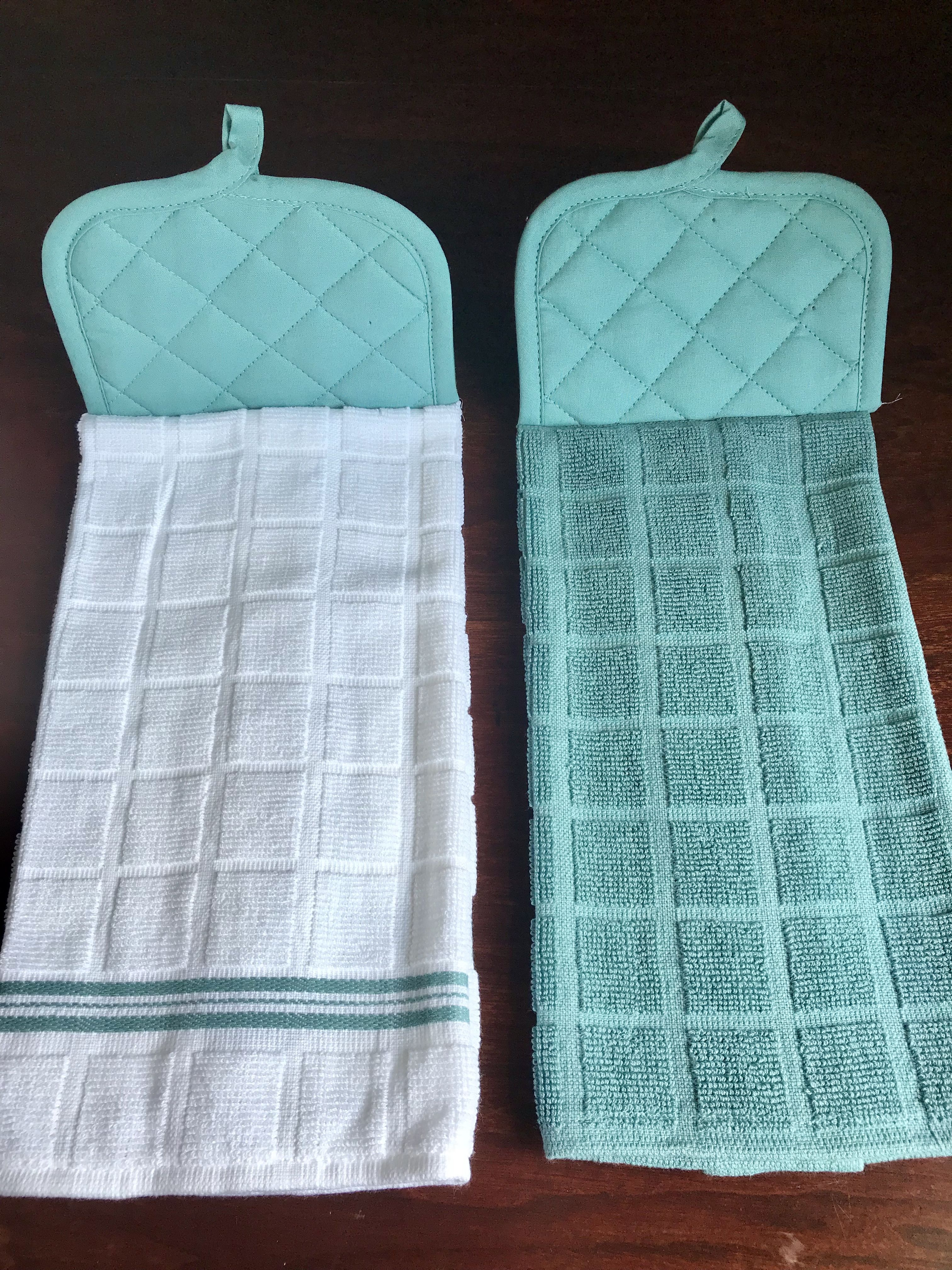 Hanging Kitchen Towel Easy Sewing Project   sewing projects ...
