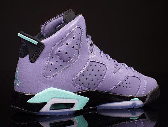 mode à vendre Air Jordan 6 Gs Rétro Blanchies Turquoise 2014 rabais magasin discount 6OVtJVfGiF