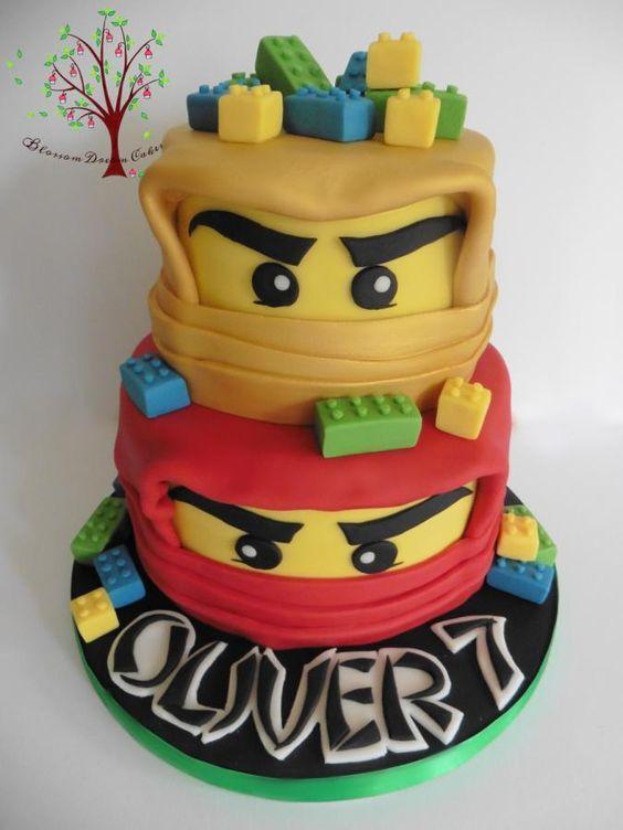 Lego Ninjago by Blossom Dream Cakes - Angela Morris