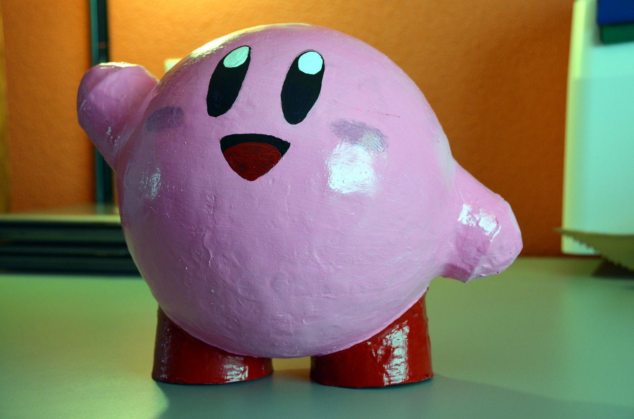 Kirby Box Paper Mache Valentine Box Crafty Kids Crafts