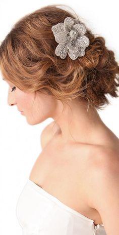 Rhinestones Wedding Hair Clip  - Weddbook