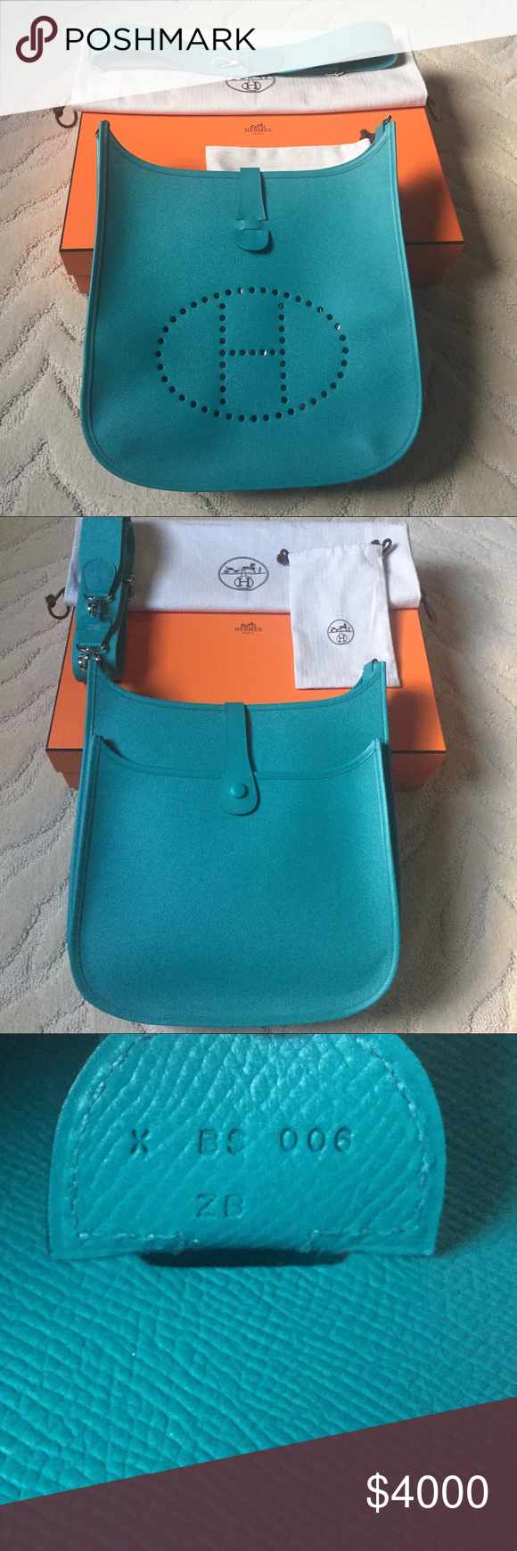 d0c3ad64e898 ... purchase hermes evelyne iii 33 brand new authentic hermes evelyne bag  with all original hermes packaging