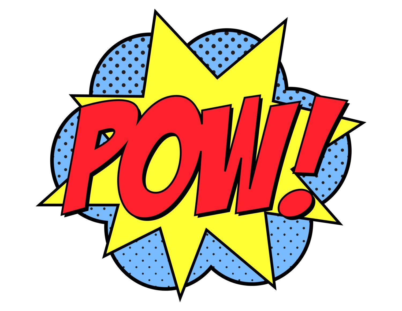 Superhero Pow Clipart Clipart Best Clipart Best Comic Book Paper Comic Party Pop Art Wallpaper