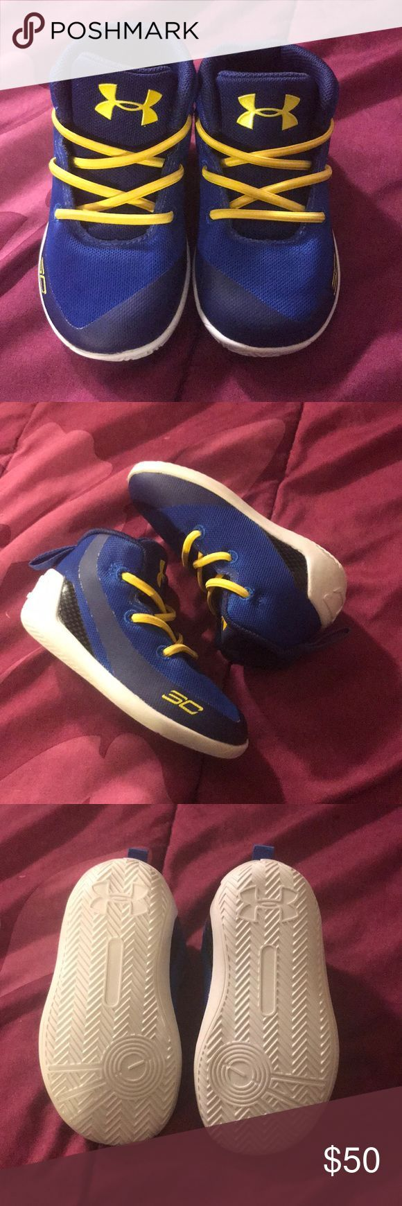 Steph Curry's Steph Curry infant shoes