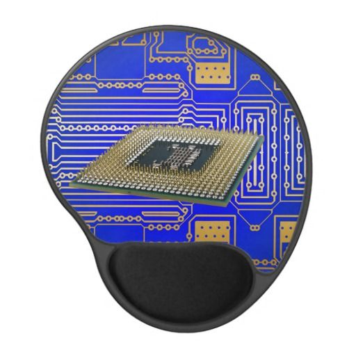 Electronics Circuit Board Gel Mouse Pads