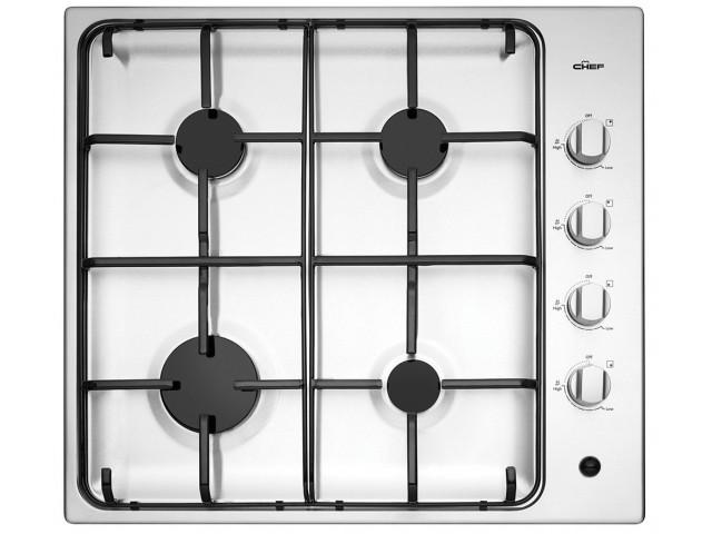 Chef 60cm 4 Burner Gas Cooktop The Back Up Plan Kitchen Appliances Kitchen