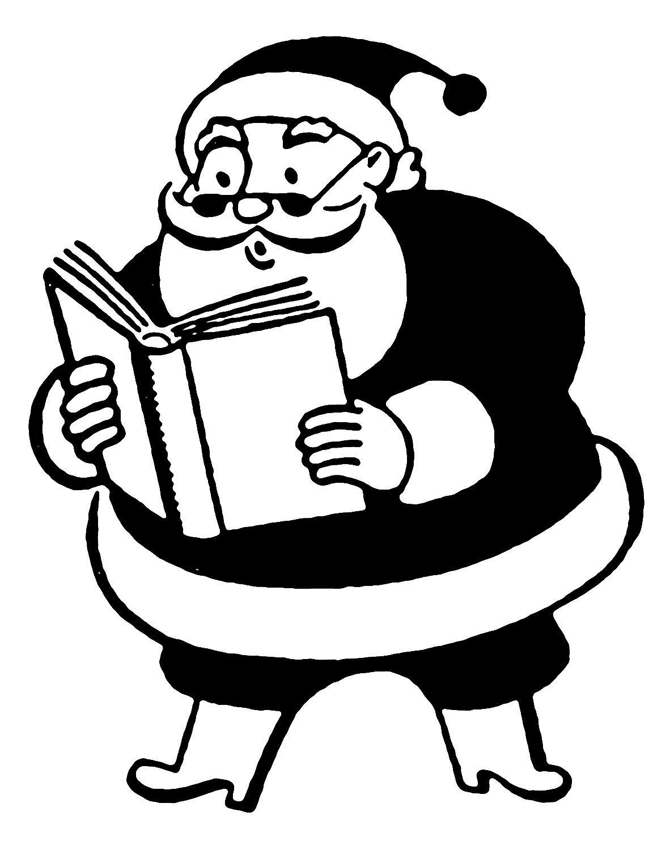 *The Graphics Fairy LLC*: Retro Clip Art - More Funny Santas
