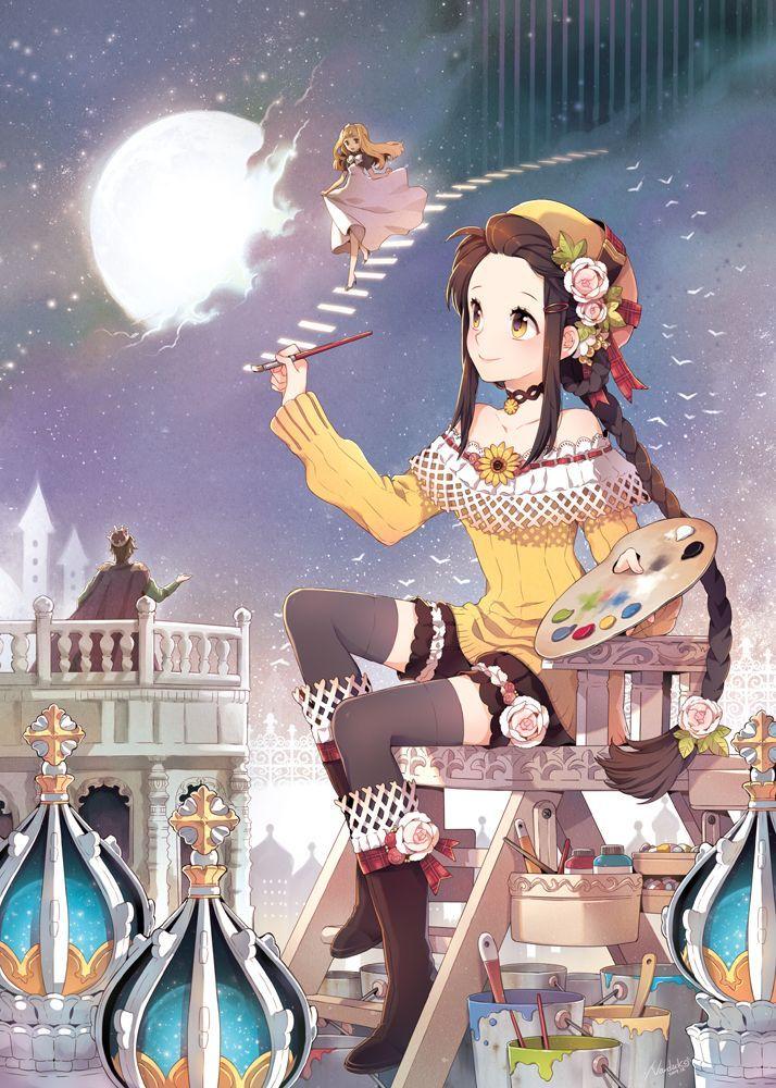 #Dibujando La #Luna #Manga   Sigue el tablero ♥Manga de tic en Pinterest.