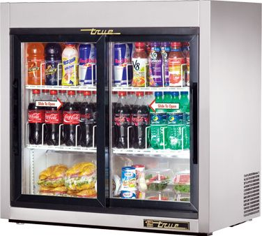 True Countertop Refrigerated Merch Tsd 9g Countertop