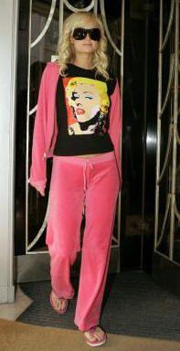 53a9f9824039 juicy couture paris hilton Velvet Tracksuit