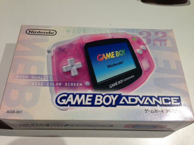 Console Game Boy Advance Rose transparent / Clear pink
