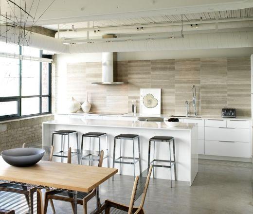 Bon Driftwood   Modern Loft Kitchen   Modern   Kitchen   Toronto   Croma Design  Inc