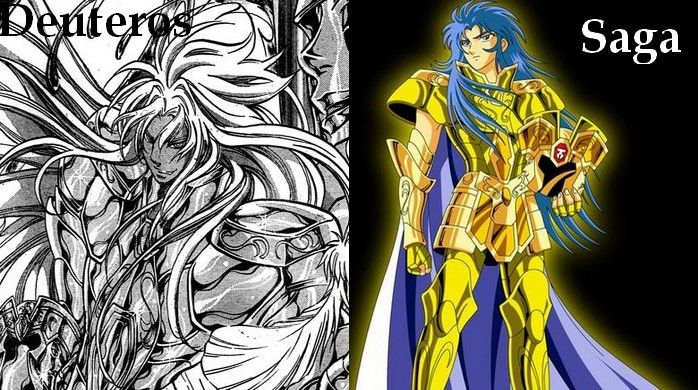 Saint Seiya Gemini Lost Canevas and Sanctuary