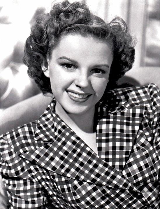 Judy Garland, Skuespillerinde, Vintage, Film