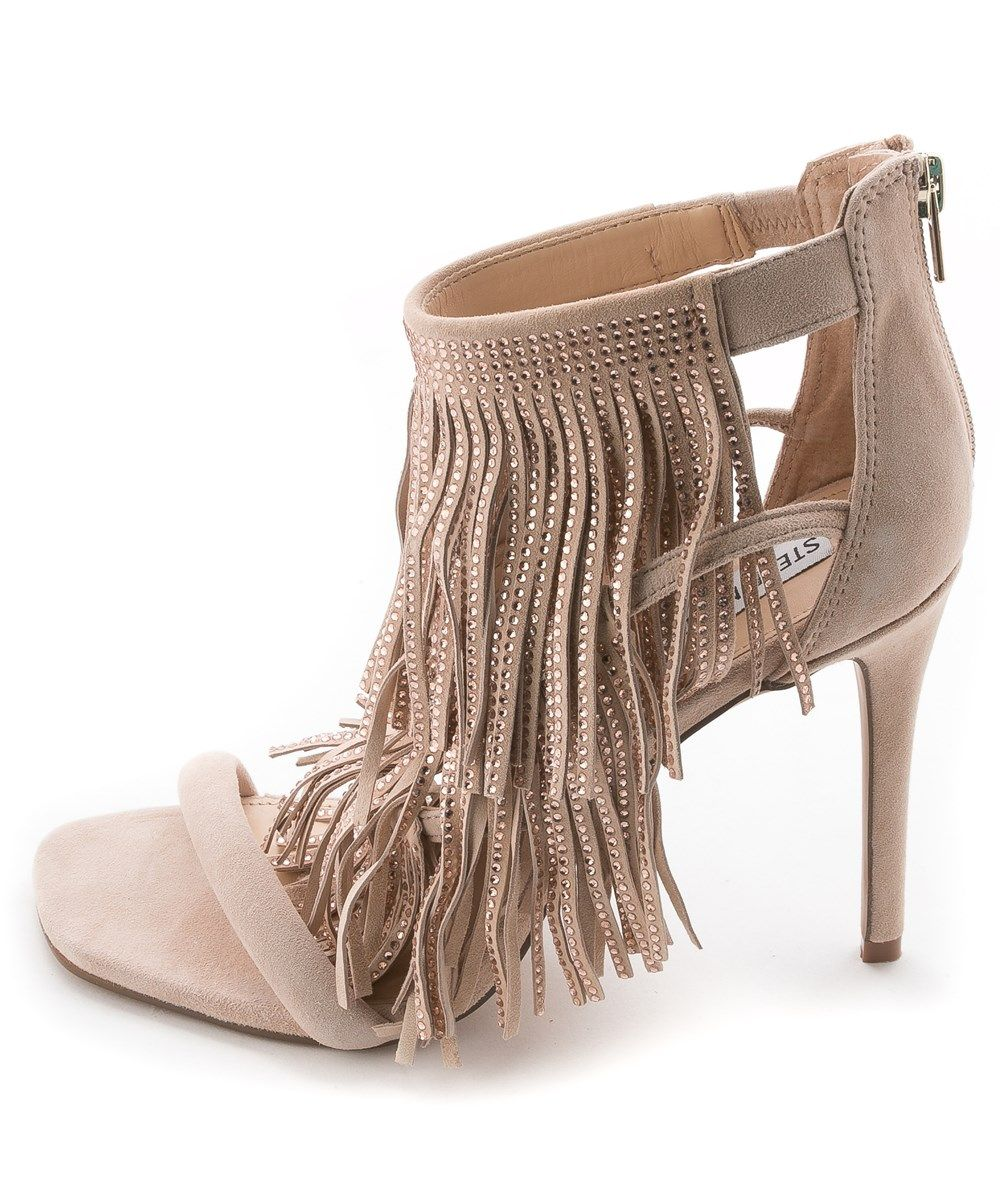 discounts fashionable for sale Steve Madden Womens FRINGLY Peep... sast cheap online sale brand new unisex SZ9QIi
