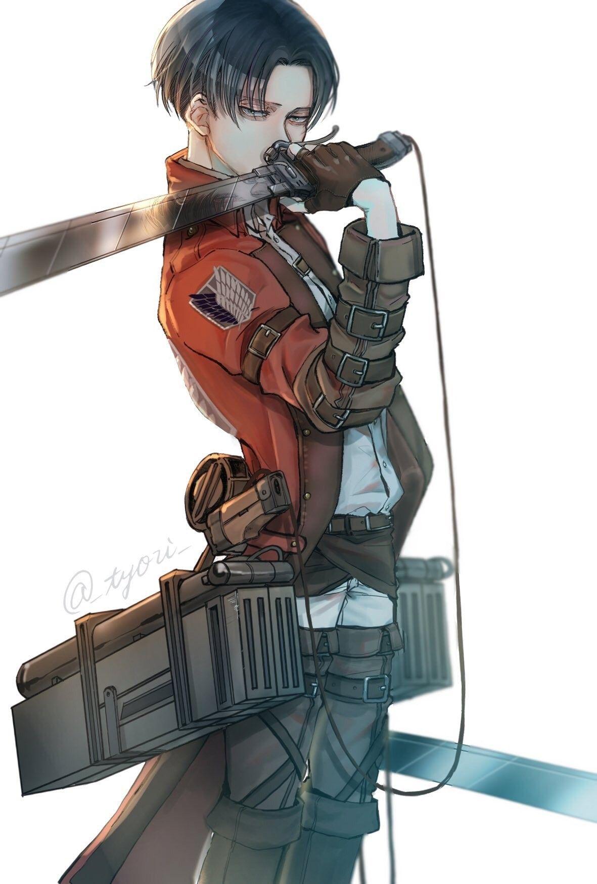 Shingeki No Kyojin Levi : shingeki, kyojin, Ackerman, Attack, Titan, Levi,