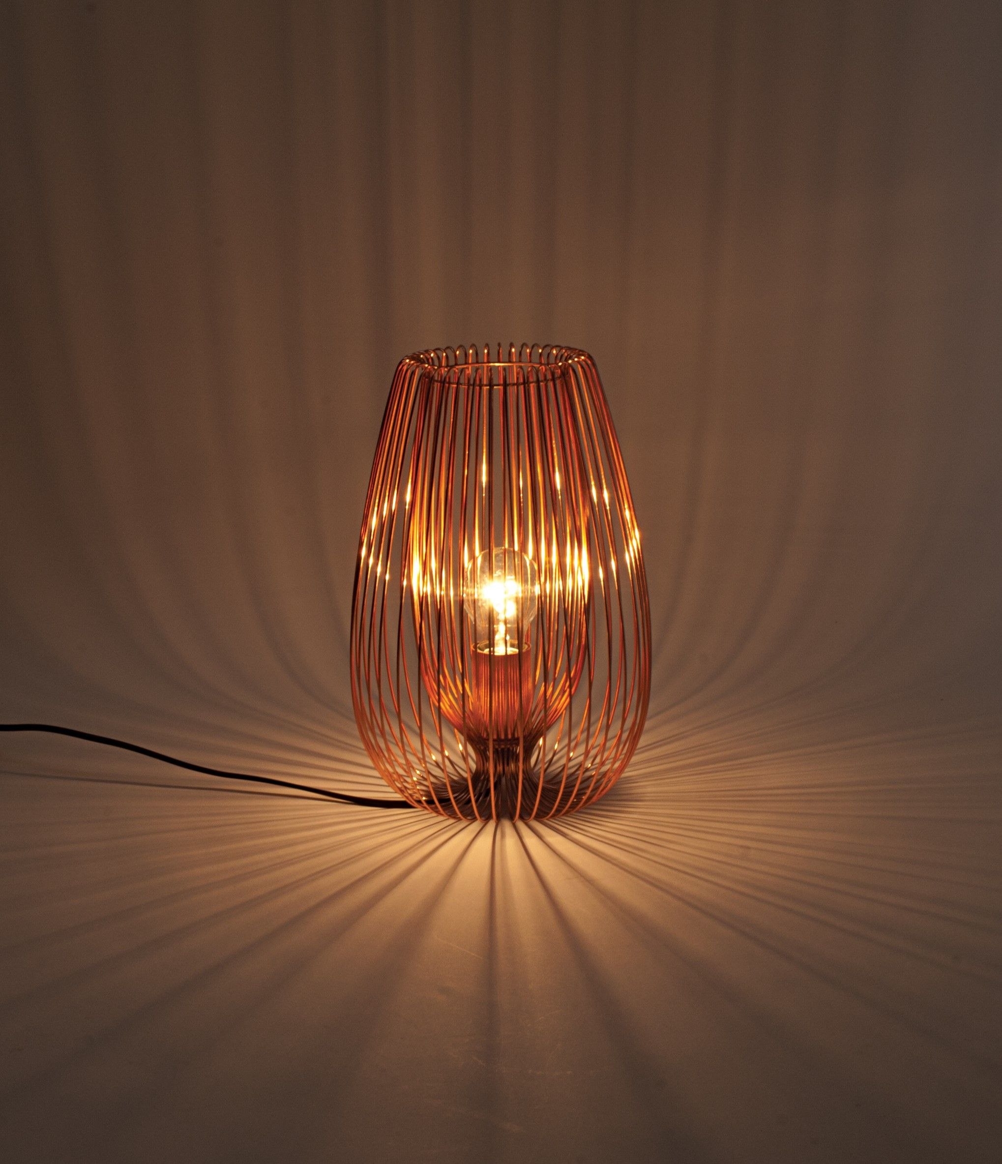 copper wire 60w e27 table lamp copper wire e27 light bulb and rh pinterest co uk how to wire up a bedside lamp how to wire a bedside lamp switch