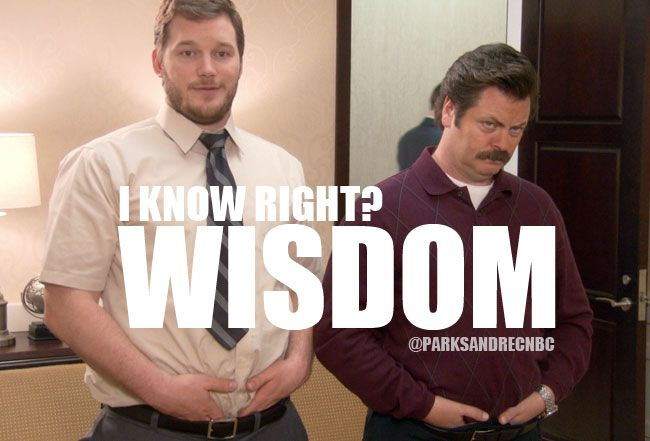 Parks and recreation meme andy