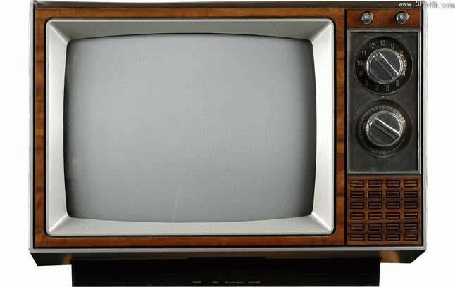 A television where you had to get up to change the channels