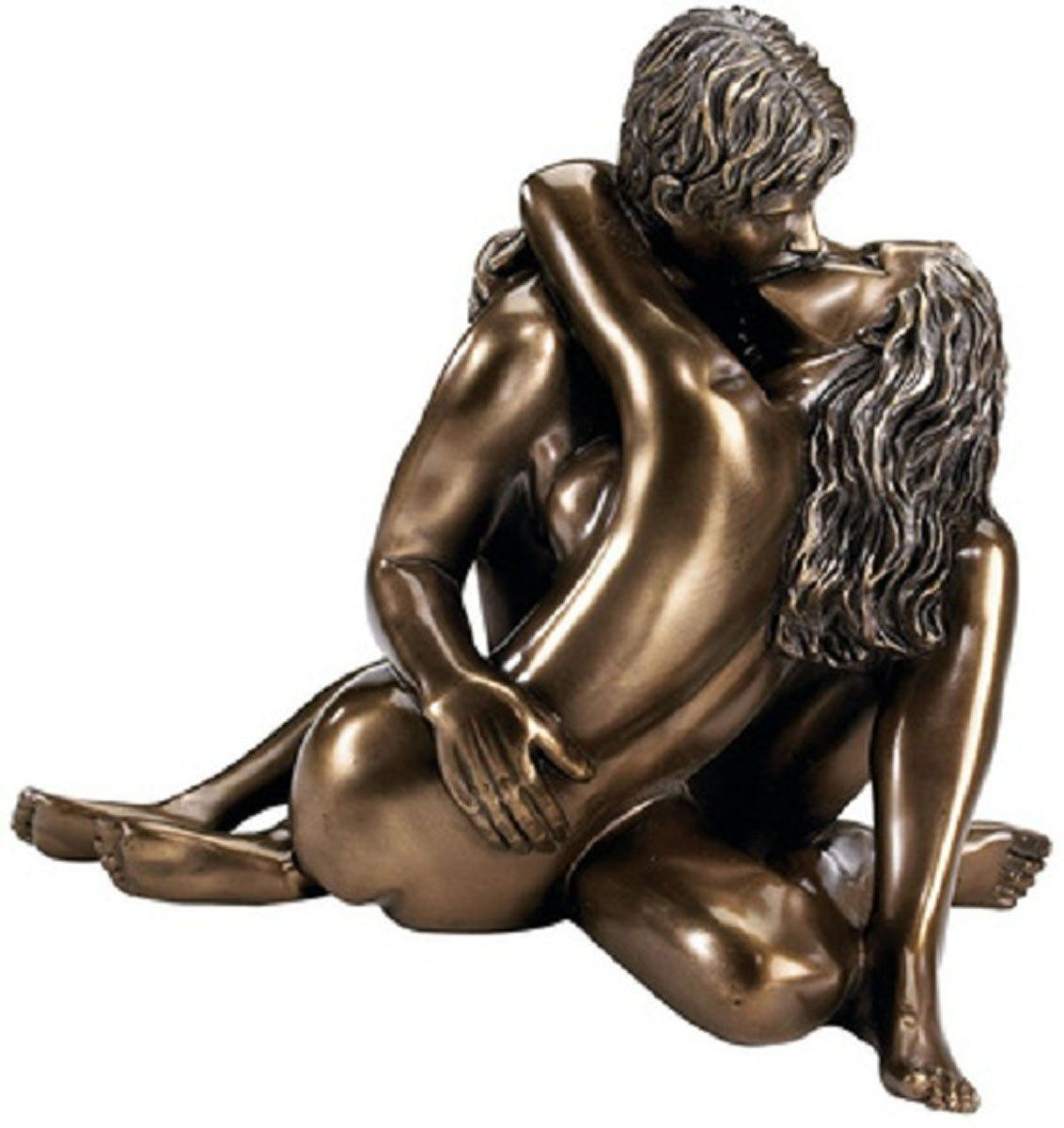 Lovely Amazon.com   Enraptured In Love Nude Lovers Romantic Bronze Desktop Table  Sculpture Statue I