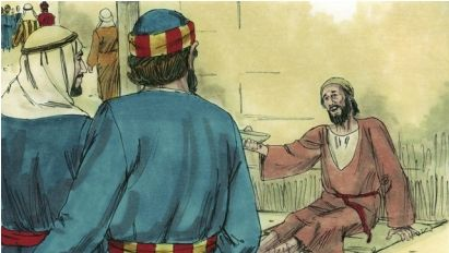 what does the bible say about beggars