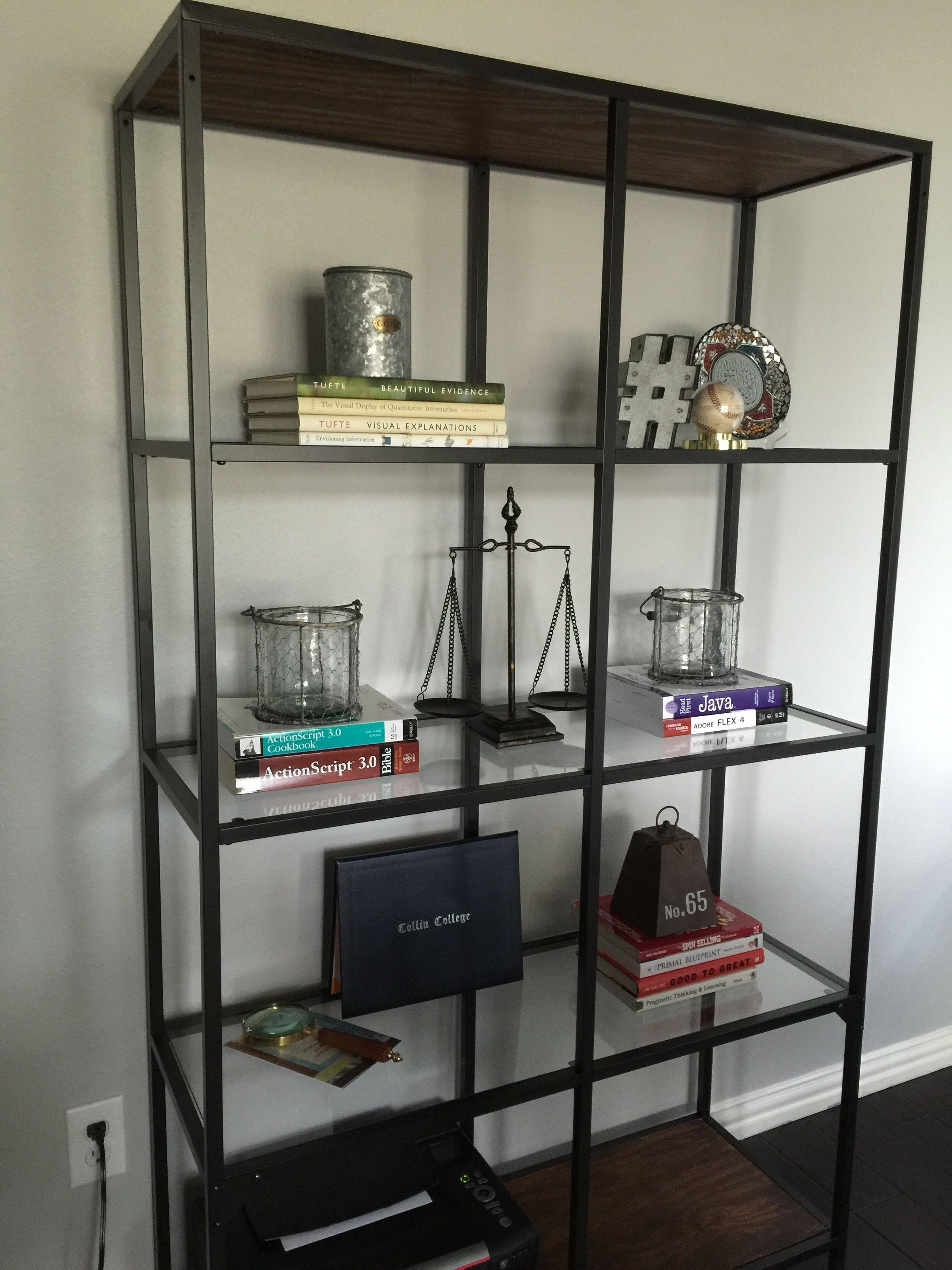 ikea vittsjo bookshelves ikea vittsjo ikea ikea hack. Black Bedroom Furniture Sets. Home Design Ideas