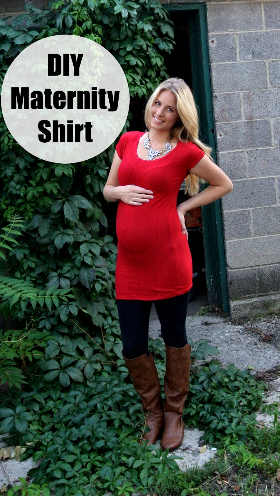Simple diy maternity top uses an old shirt as a pattern best simple diy maternity top uses an old shirt as a pattern ombrellifo Images