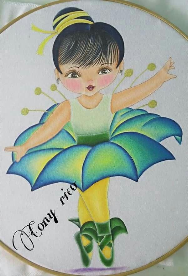 Ni a petunia ni as flor pintura textil pintar con - Dibujos para pintar en tela infantiles ...