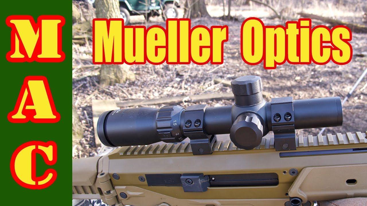 Mueller 1-4x24 Speed Shot Scope
