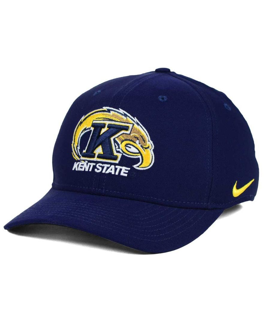 Nike Kent State Golden Flashes Classic Swoosh Cap