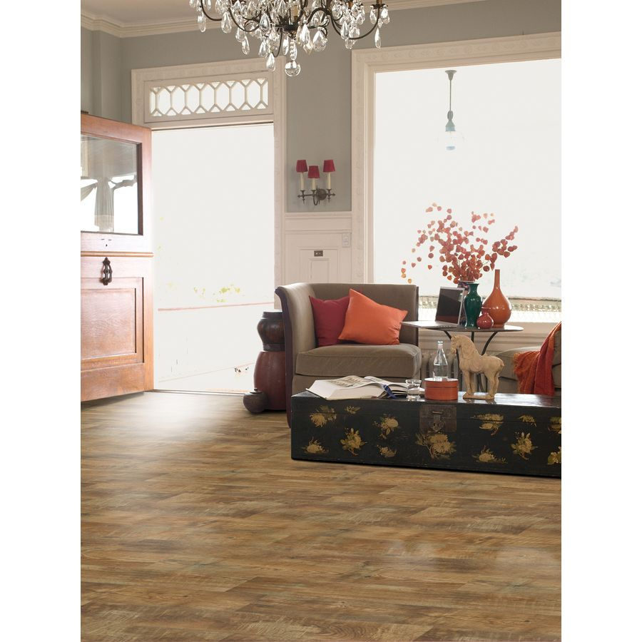 Stainmaster 12 Ft W Huntington Coffee Wood Low Gloss Finish Sheet Vinyl At Lowes