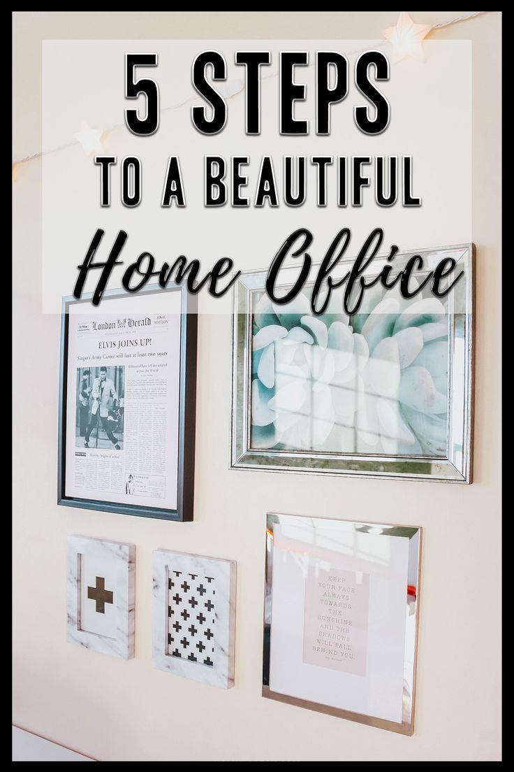 office decor 5 steps to a beautiful home office with on beautiful home desk organization ideas make comfortable what it will do for you id=97446