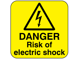 Pin On Electrical Hazard Labels Electrical Warning Signs
