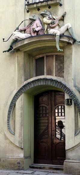 the Marionet Theater door  ☆    Poland