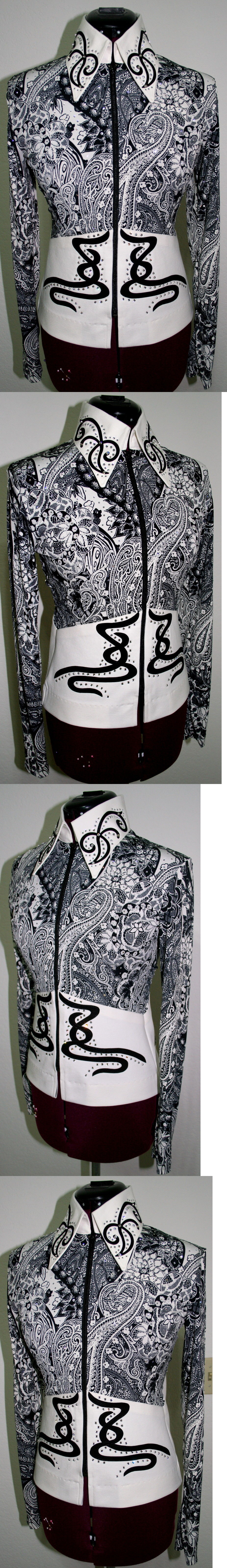 Western Show Shirts 183370: New Wannagoslow Showmanship Horsemanship, Pleasure, Rail, Horse Show Trail Nr -> BUY IT NOW ONLY: $475 on eBay!