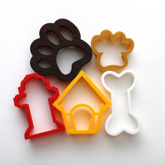 Puppy Pack Cookie Cutter Collection 5 Cutter Set For The Dog