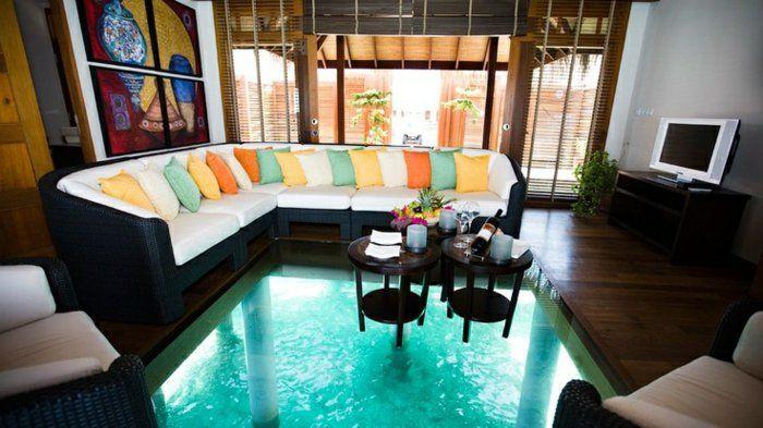 Transformez votre maison avec le plancher en verre! Loft ideas and