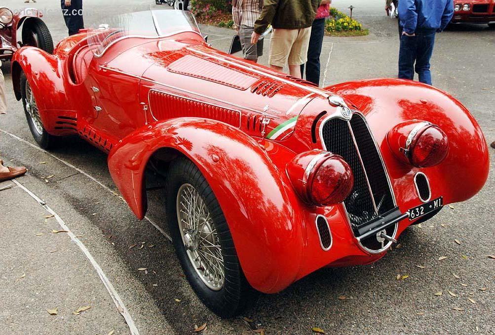 1938 Alfa Romeo 8C 2900 Mille Miglia   Amazing Clic Cars ...