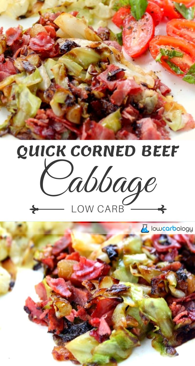 Quick Corned Beef and Cabbage Recipe Corn beef