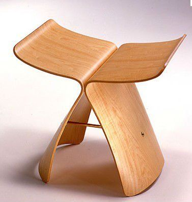 Japanese designer Butterfly chair/wooden chair(China