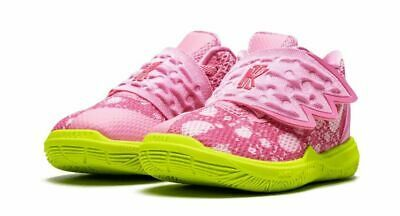 Details about Nike Kyrie Irving 5 V Spongebob Star Patrick Lotus CN4490 600 Shoes Toddler 7c in 2020   Nike kyrie. Baby outfits newborn. Girls ...