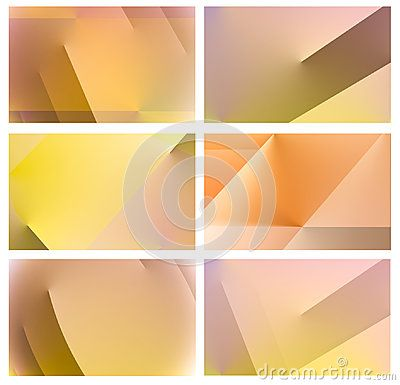 Abstract Colorful Background Template For Website Banner