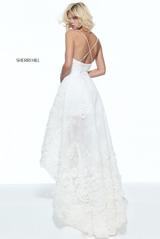 51153 - SHERRI HILL. Ivory DressesFormal ...