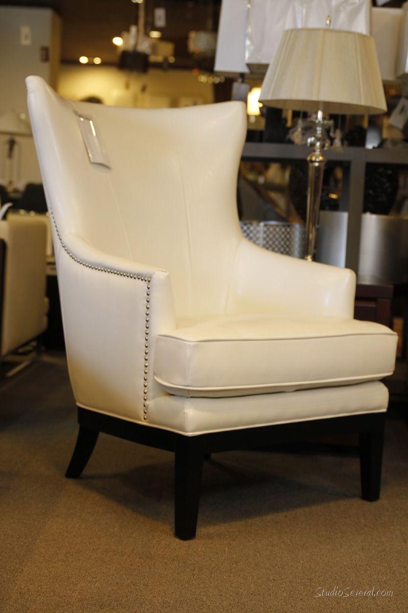 Elegante butaca blanca muebles pinterest for Butacas para comedor