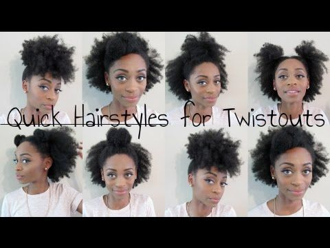 Hey guys i decided to try out some quick styles with my old natural hair quick hairstyles for old twistout solutioingenieria Choice Image