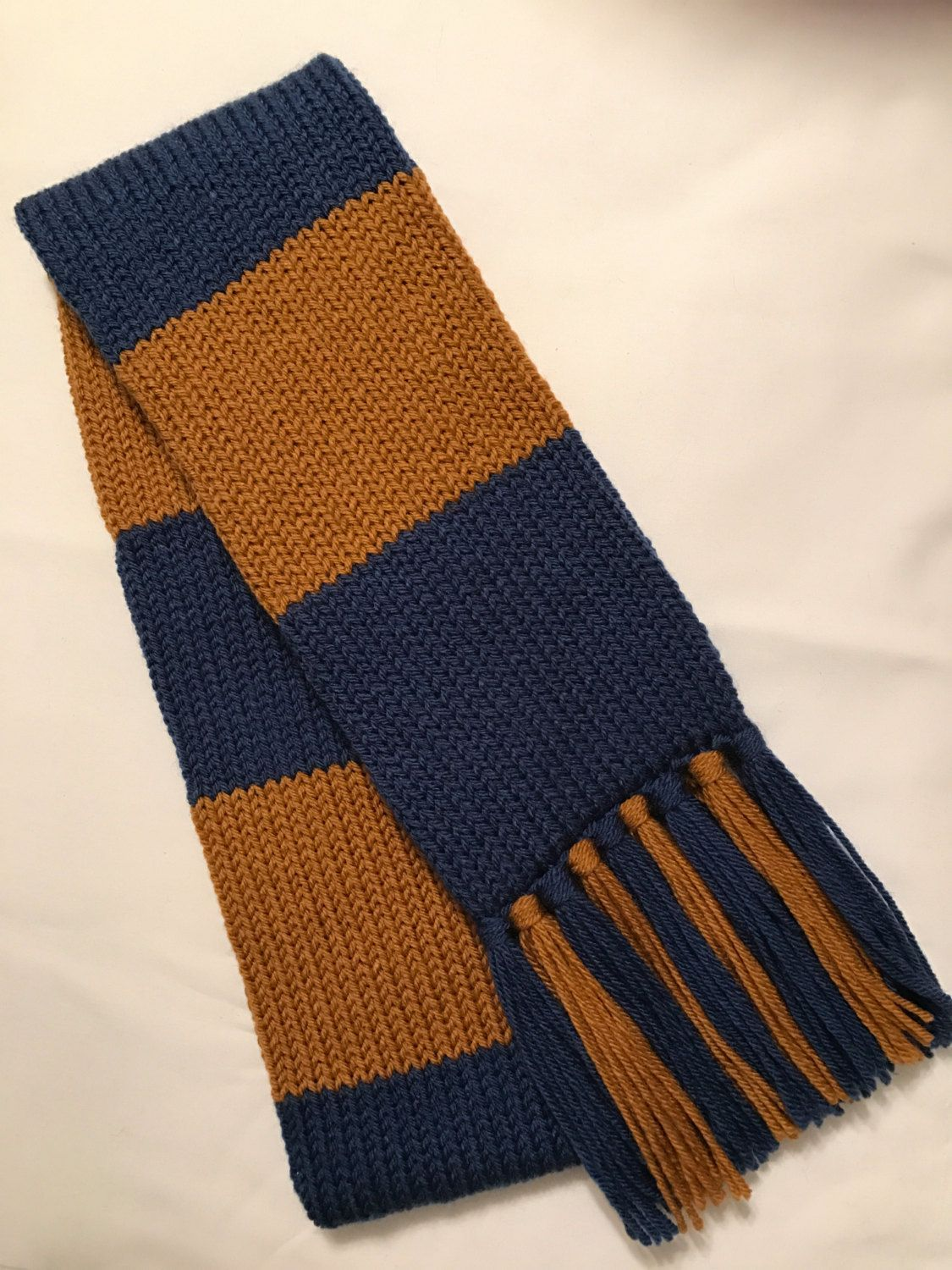 Ravenclaw scarf, Harry Potter scarf, Adult Ravenclaw house scarf ...