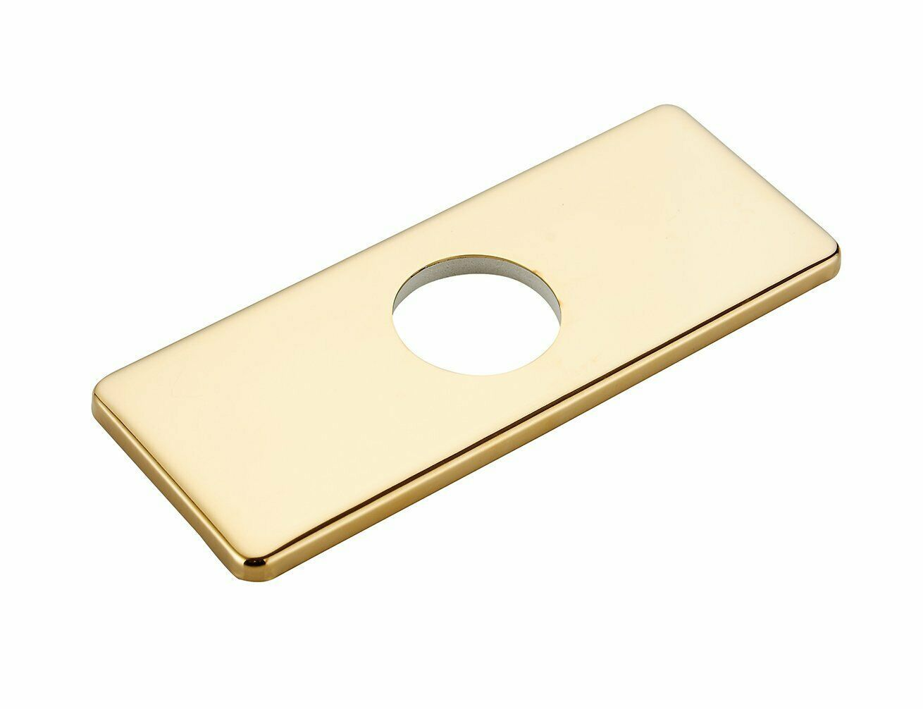 Faucet Hole Cover Deck Plate Kitchen Bathroom Sink Cover Rectangle 6 Inch Gold Kitchen Faucets Ideas Of Kitc Sink Cover Kitchen Faucet Gold Kitchen Faucet